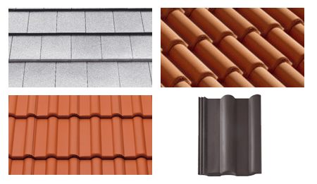Concrete Tiles Are Made From Sand, Water, Cement And Pigments, And Are Not  Fired Like Clay Tiles, But Cured At Temperatures Of Approximately 60  Degrees ...